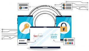 SecTrail ile Cisco Firepower